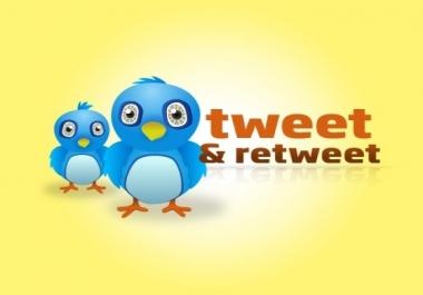 ازيد من 200 ريتويت خليجي لكل تغريداتك