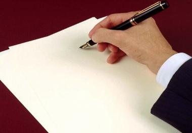 كتابة مقالات أو مواضيع في جميع المجلات مقابل 5 دولار