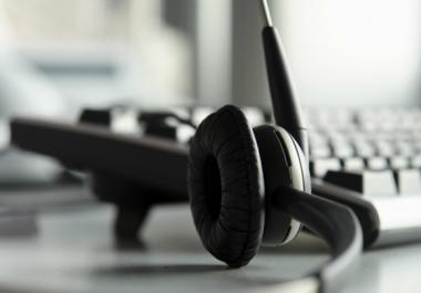 التفريغ الصوتي: تحويل الملفات المسوعة لملفات مكتوبة