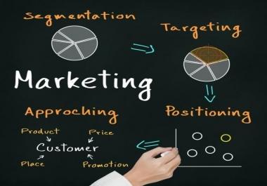 خطة مبيعات و تسويق