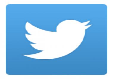 إضافة 600 ريتويت لا اخر 20تغريده