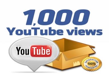 احصل على 1000 مشاهدة لاى فيديو على اليوتيوب ب5 دولار