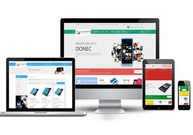 انشأ لك متجر الكتروني احترافي لبيع منتجاتك