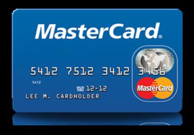شرح طريقه للحصول على بطاقة ماستر كارد مجانا فقط ب5 دولار فقط