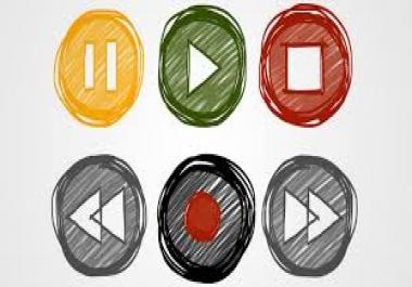 فيديو يعرض شعارك باحدث الاشكال العصرية