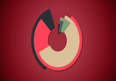 فيديو يعرض شعارك مع14 طريقة جديدة ومختلفة بتقنية موشن جرافيك