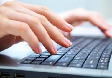 ادخال بيانات لموقعك او لمتجرك بشكل احترافى ومدقق