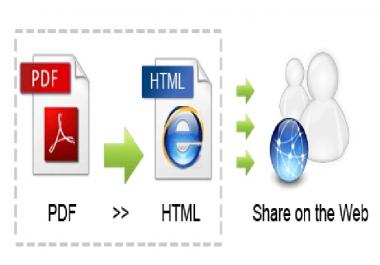 سأقوم بتحويل أي ملف pdf إلى ملف html