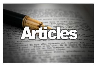 كتابة مقالات عن أي موضوع ..
