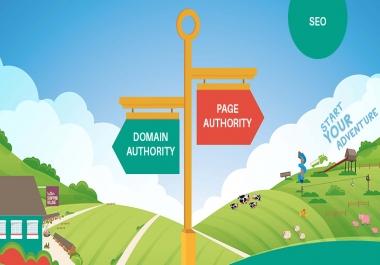 إعطائك دومين قابل للحجز لربطه بموقعك للرفع من قوة DA و PA لتحسن ترتيبك في محركات البحث