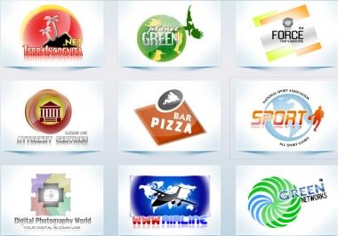 تصميم شعارين احترافيين وحسب اختياراتك