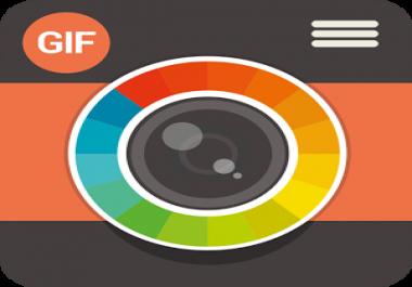 تحويل الفيديوهات الى صور متحركة gif