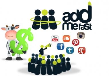 أرسل لك تطبيق يقوم بزيادة نقاطك في Add Me Fast بكبسة زر آمن100%