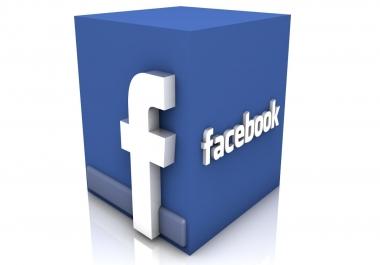 4000 معجب لصوره او منشور على فيس بوك
