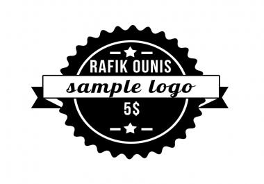 سأصمم لك logo او شعار لأسمك او أسم قناتك الخ...