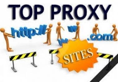 سأقوم بصنع موقع بروكسى احترافى لتضع فيه اعلانات جوجل ادسنس