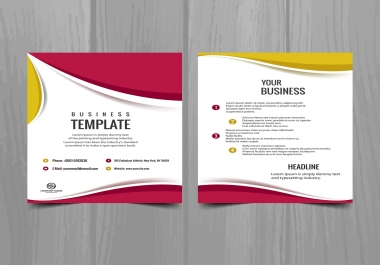 تصميم تصميم فلاير flyer يجذب العملاء
