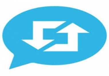 رتويت لتغريداتك لمدة أسبوع من حساب به 10 ألاف متابع خليجي و 35 متابع موثق الحساب