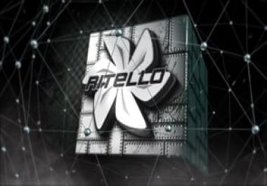 تصميم إنترو فيديو متحرك لشعار شركتك أو بإسمك الشخصي أو منتجك
