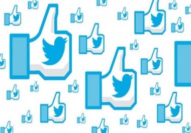 2000 لايك على تويتر Twitter Like