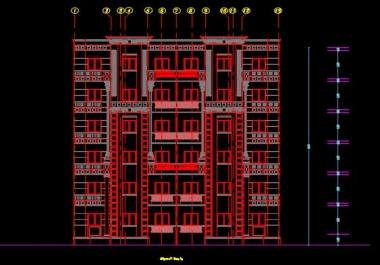 الرسم على برنامج الاوتوكاد 2D