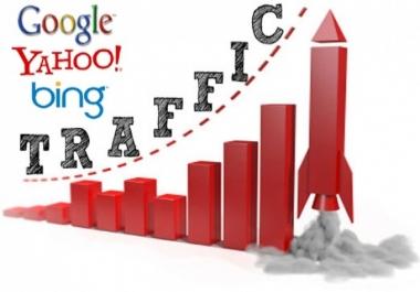 جلب 30 الف زائر ب5$ من جوجل او المواقع الأجتماعيه حقيقين100%