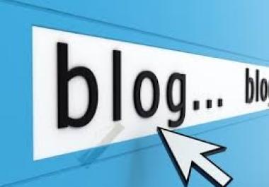 بإنشاء مدونة لك مع قالب رائع يلفت الإنتباه مع مقدمة فيديوهات