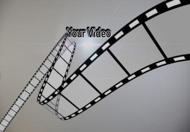 مونتاج فيديو باحتراف و بدقه عالية 5$