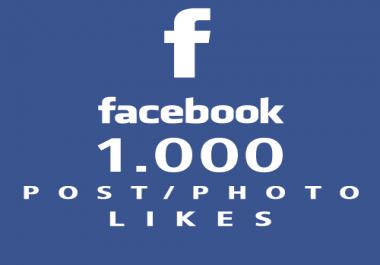 1000 لايك لأي منشور أو صورة على الفيسبوك