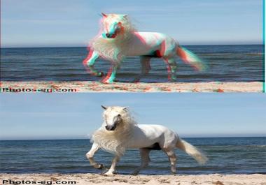 تحويل أي صورة لصورة ثلاثية الأبعاد 3D بكل احترافية