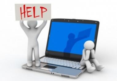 حل جميع أنواع مشاكل الحاسوب