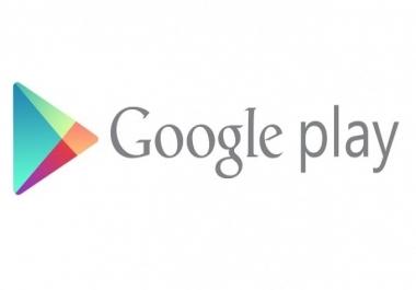 اقوم بشراء اي تطبيق من جوجل بلاي مدفوع باي سعر مقابل 5$
