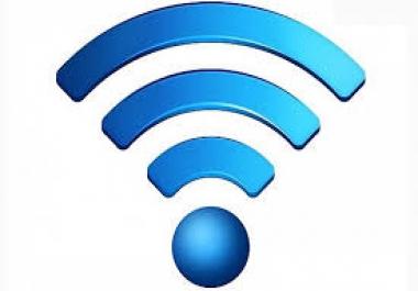 خدمة واي فاي