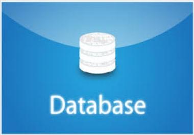 قاعدة بيانات لأكثر من 2 مليون سجل بالإسم ورقم التليفون أرضى أو موبايل مقسمة أحياء .. للبيع