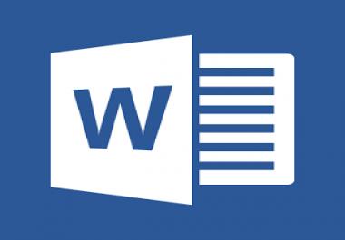 كتابة و تحويل النصوص المصورة و المكتوبة بخط اليد و ال PDF الي Word