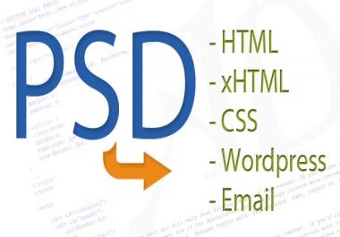 تحويل ملفات psd الي html   css   js