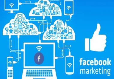 ادارة اى صفحة facebook بالمحتوى والتصميم