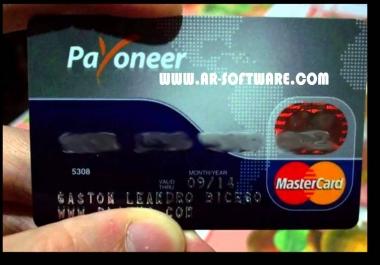 سوف ارسل لك بطاقه ماستر كاردفى حساب بنكى امريكى فى بايونير