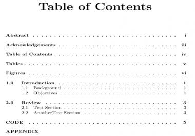 إنشاء جدول محتويات لكتابك او لبحثك أو مقالتك