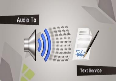 خدمة تحويل الصوت والفيدو والصور الى نص