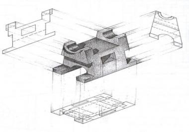 أشرح لك الرسم الهندسي على الورق عن بعد والهندسة الوصفية