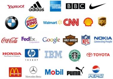 تصميم شعارات مميزة لشركتك او منتجك 10 شعارات 5 دولار فقط