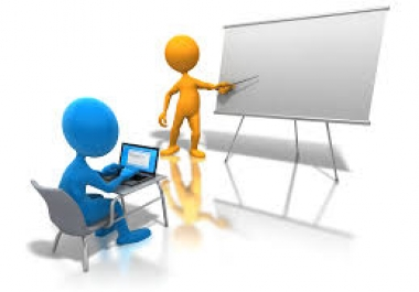 عمل أي Presentation باللغه العربيه أو الانجليزيه عن طريق ال Powerpoint