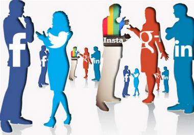 إرسال 20000  ترافيك حقيقي من الشبكات الإجتماعية