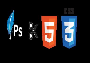تحويل psd الى HTML