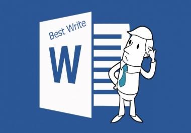 قوم بكتابة 25 صفحة علي الوورد
