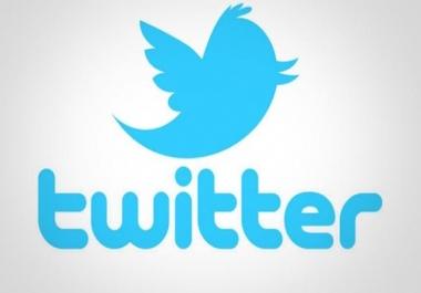 اعطيك 7500متابع مضمون 15 رتويت مجانا لمدة 3 ايام على اي تغريد