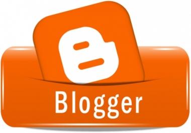 انشاء مدونة بلوجر واضافة قالب احترافي جميل