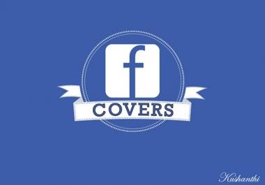تصميم أغلفة فيس بوك إحترافية وفخمة