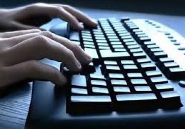 كتابة جميع الملفات ومحاضرات الطلبة على الوورد عربي انكليزي